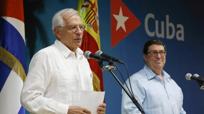 Spain historic trip to Havana